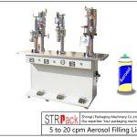 Riempitrice semi-automatica per aerosol