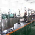 Linea di produzione automatica Macchine per l'imbottigliamento di riempitrici di bottiglie per disinfettante per mani con alcool al 70%, shampoo, gel doccia