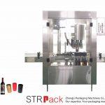 Aggraffatrice automatica a 4 teste in alluminio