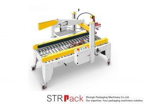 Macchina automatica del sigillante del contenitore di cartone della cassa pieghevole delle alette del nastro adesivo