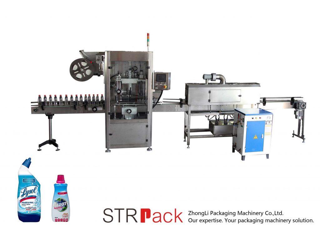 Etichettatrice automatica per manicotti termoretraibili
