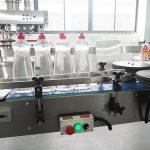 Linea d'inscatolamento della bottiglia dell'imbottigliatrice liquida di pulizia