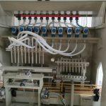 Linea di riempimento liquido corrosivo, linea di riempimento liquido arpico, macchina di riempimento detergente per WC