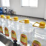 Linea di riempimento olio commestibile automatico
