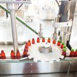 Linea di confezionamento della tappatrice della riempitrice automatica della vitamina del liquido