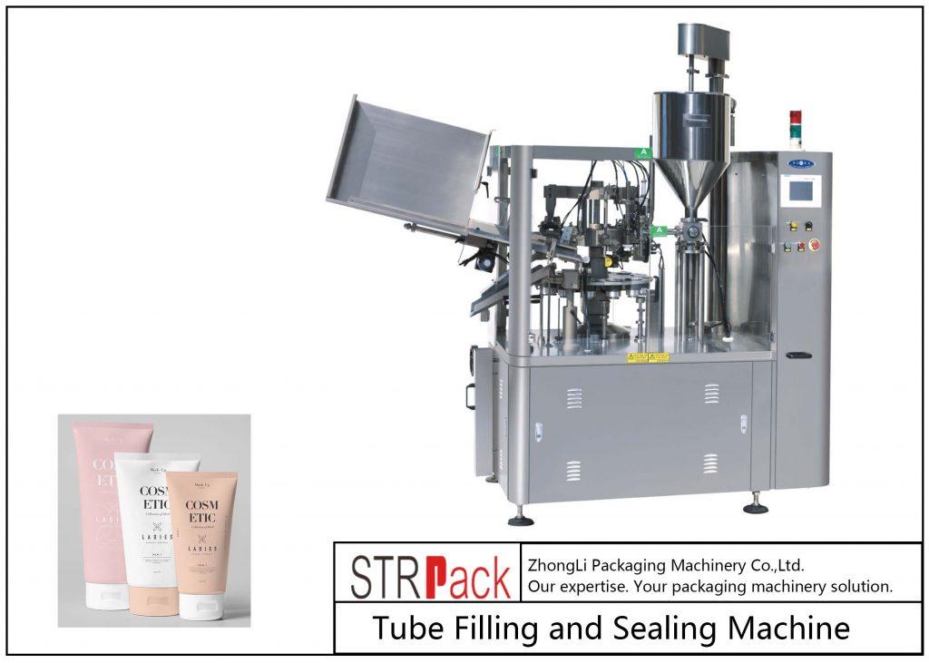 Riempitrice e sigillatrice per tubi in plastica SFS-100